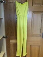 Yellow Green Jumpsuit As Seen On Amy Childs