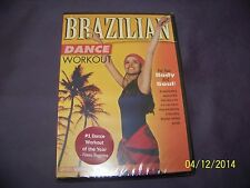 Brazilian Dance Workout with Vanessa Isaac (DVD, 2005) NEW FREE USA SHIPPING