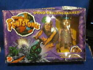 The Flintstones Dyno-Drilling Barney Mattel
