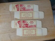 2 Old Ionia Creamery and Locker Butter One Pound Unused Container Package Iowa