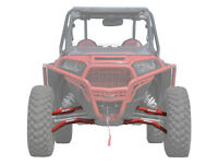 SuperATV High Clearance Forward Offset A Arms for Polaris RZR XP 1000 - RED