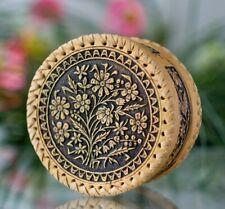 Beautiful Trinket Box * Birch Bark * Ring Jewellery Case * hand made in Russia