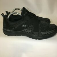 Skechers Flex Appeal 3.0 Air-Cooled Memory Foam Shoes Black Women's Size 11
