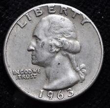 1963 USA Quarter Dollar argent