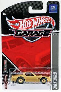 Hot Wheels Hot Bird GM Garage Series #T8271 New NRFP 2010 Gold 1:64