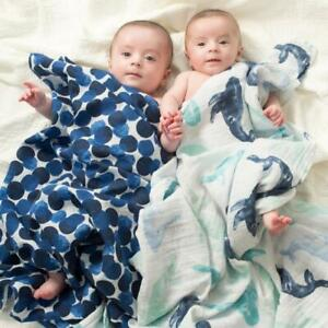 aden + anais seafaring classic muslin swaddles 4-pack SALE!