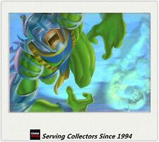 1995 Flair Marvel Annual Card Series Holoblast No7 Hulk vs Trauma