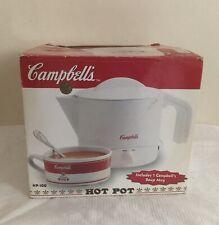 NEW 1999 stock Campbell's Hot Pot w/Collectible Mug