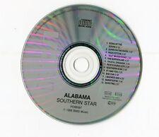 Alabama  cd  SOUTHERN STAR © 1988 - German 13 Track - RCA first press # PD88587