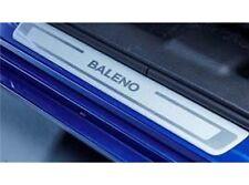 Battitacco in alluminio con logo (set 4 pezzi) per Nuova Suzuki BALENO 2016