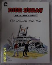 Rick O'Shay The Dailies : 1963-1964 Softcover Book Autographed by Stan Lynde