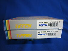 "TIFFEN 4 1/2""   4.5"" round   WARM   PRO MIST  1/4, 1/2  (LOT OF 2)"