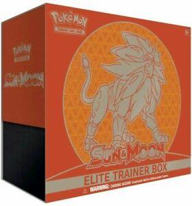 Pokemon TCG Sun & Moon SM Base Set Solgaleo Elite Trainer Box ETB SEALED MINT
