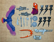 Vintage MOTU He-Man Masters of the Universe Weapons Accessories Parts Lot