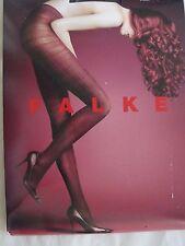 NWT $49 FALKE Women 60 Den Appearance Tights Sz L Black #40719