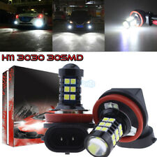 2Pcs H11 H8 H9 H16 3030 30Smd Led Fog Lights Conversion Bulb Kit 6000K Hid White