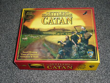 THE SETTLERS OF CATAN GAME : KLAUS TEUBER 2012 EDITION - IN VGC (FREE UK P&P)