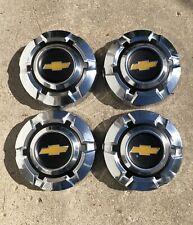 "69-75 Chevy Dog Dish 10 1/2"" HUBCAPS Set of 4 C10 Pickup Truck Van 1/2 Ton NICE!"