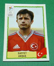 N°149 SAFFET AKBAS TURQUIE TÜRKIYE PANINI FOOTBALL UEFA EURO 2000