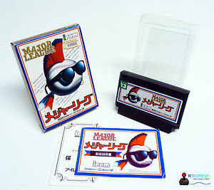 Nintendo Famicom Game - Major League - Complete IN Box Boxed