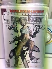 divine right #1 signed travis charest adventures of max faraday