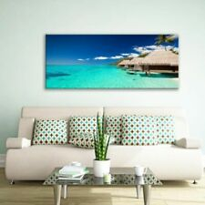Glass Picture Toughened Wall Art Unique Modern Print Exotic Island Any Size