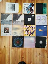 New Order Vinyl Record collection - 14 pieces
