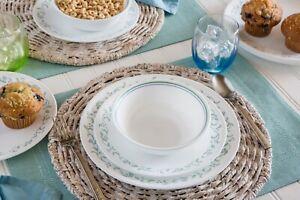 Corelle Livingware Country Cottage 16 pc Dinnerware Set Service