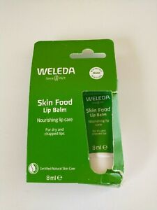 Weleda Skin Food Lip Balm, 8 ml - New - Packaging Damaged Free P&P