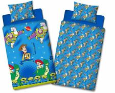 TOY STORY FRIENDS SINGLE DUVET QUILT COVER REVERSIBLE BEDDING SET
