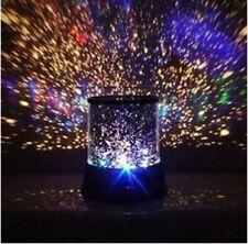 Lava Lamp Light Night Motion Liquid Vintage Silver Retro Base Blue Lite Purple