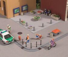 AUHAGEN HO scale ~ STREET ACCESSORIES ~ plastic model kitset # 41639