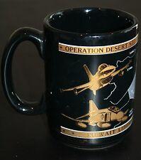 Operation Desert Storm Hill AFB Coffee Cup Mug Kuwait Liberated Kapan-Kent Co.