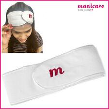 Cosmetic Headband Spa Bath Shower Hair Band Towel Wrap Hold 100% Cotton Make up
