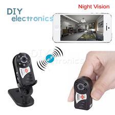 Wireless WIFI Spy Hidden Camera Mini P2P DV Recorder DVR Night Vision Q7 US