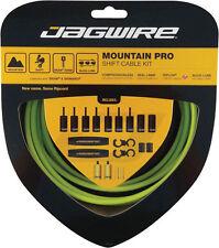 JAGWIRE MOUNTAIN PRO ERGON GREEN MTB SHIFTER SHIFT DERAILLEUR CABLE KIT