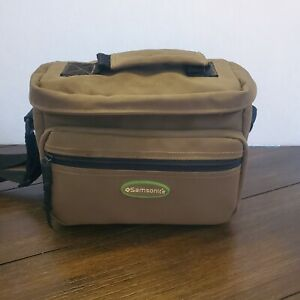 Samsonite Camera Bag With Shoulder Strap, Adjustable Sections Nikon Polaroid