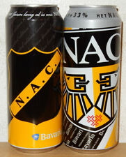 2 BAVARIA Soccer NAC BREDA Team Beer cans from HOLLAND (50cl)