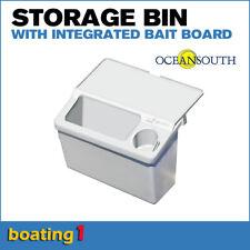 Tinnie Bait & Storage bin with integrated bait board - Oceansouth