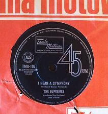 45rpm single - The Supremes - I Hear A Symphony/Who Could Ever Doubt My Love