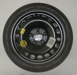 GM 16'' ASTRA H 5 STUD SPACE SAVER SPARE WHEEL WITH CONTINENTAL TYRE 115/70 R16