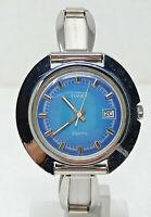 Orologio Timex ufo watch elettromeccanico vintage clock anni 70 disco volante