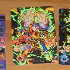 DRAGON BALL Z GT DBZ DBS HEROES GOD MISSION CARD PRISM CARTE HGD4-CP1 JAPAN NM