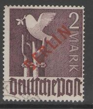 Gestempelte Briefmarken aus der DDR (1949-1954)