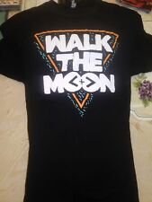 WALK THE MOON Mens Black T Shirt - SIZE MEDIUM - Pop/Rock Band Tee