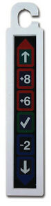 FRIDGE THERMOMETER LCD REFRIGERATOR TEMPERATURE WITH HANGING HOOK 22/865/0