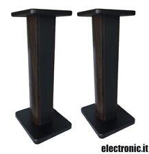 Coppia stand in legno per diffusori