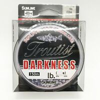 SUNLINE TROUTIST DARKNESS Nylon Monofilament Line 164yds 150m FREE SHIPPING