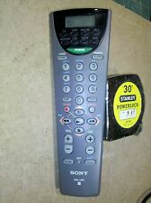 7AAA42 SONY RM-V60 REMOTE CONTROL, LCD DISPLAY, VERY GOOD CONDITION