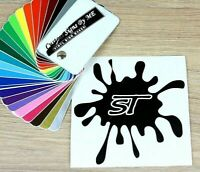 Funny ST MUD SPOT Car Sticker Vinyl Decal Adhesive Windscreen Bumper Tailgate BL